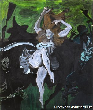 Painting from Alexander Goudie Trust