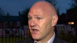 West Belfast MP Paul Maskey
