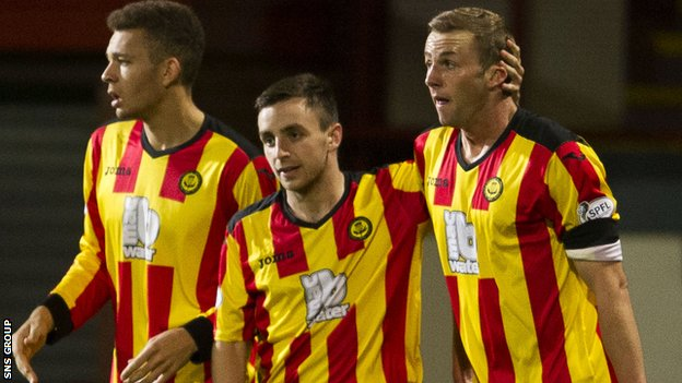 Partick Thistle needed extra-time to see off Cowdenbeath