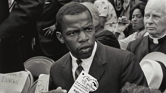 John Lewis at the March on Washington