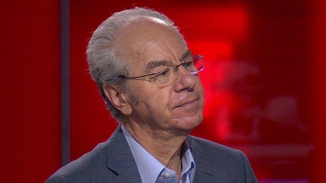 YouGov president Peter Kellner