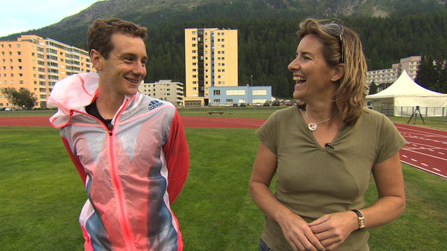 Alistair Brownlee and Katherine Grainger