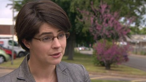 Norwich North MP Chloe Smith (Con)