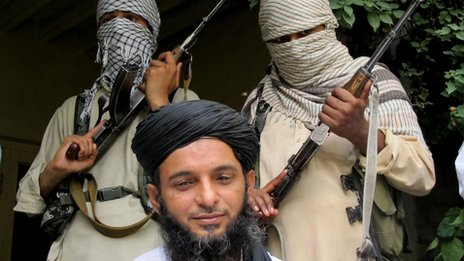 Asmatullah Muawiya in August 2013