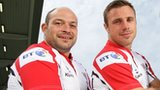 Rory Best and Tommy Bowe