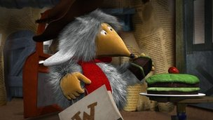 Orinoco of the new-look Wombles