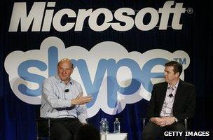 Microsoft Skype takeover