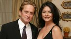 Handout photo of Catherine Zeta Jones and Michael Douglas, attend a fundraising dinner in aid of the NSPCC Cymru/Wales Full Stop Appeal, for which Catherine is an ambassador, in Cardiff, Wales. PRESS ASSOCIATION Photo. Picture date: Monday June 19, 2006. See PA Story SHOWBIZ Hospital NSPCC Photo credit should read: PA