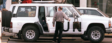 UN weapons inspectors in 1998