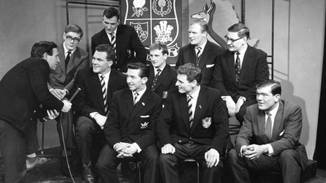 Cliff Morgan and British Lions
