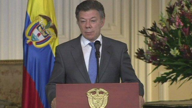Colombian President Juan Manuel Santos