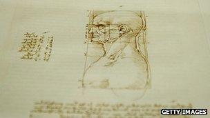 da Vinci drawings