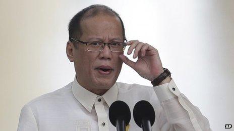 File photo: Philippine President Benigno Aquino