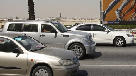 Cars in Doha