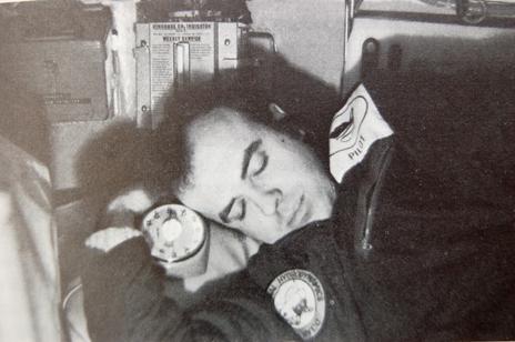 Roger Chapman asleep