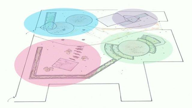 BBC Bristol rooftop garden design plan