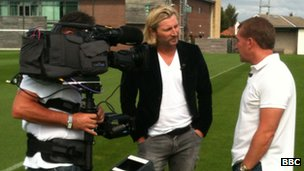 Robbie Savage interviews Brendan Rodgers