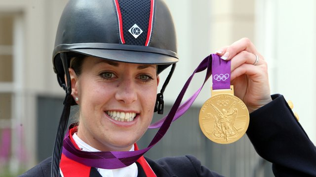 World record hat-trick for Dujardin