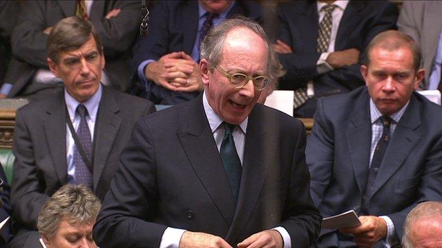 Conservative Sir Malcolm Rifkind