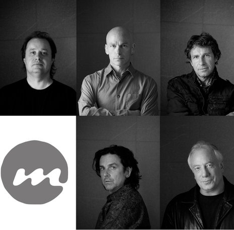 Marillion: (clockwise from top left) Steve Rothery, Mark Kelly, Pete Trewavas, Ian Mosley and Steve Hogarth