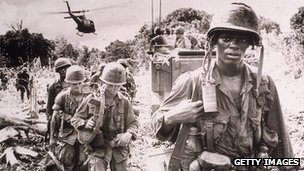 US troops in Vietnam war
