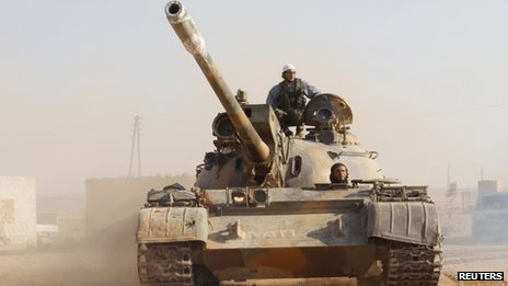 Tank in Syria