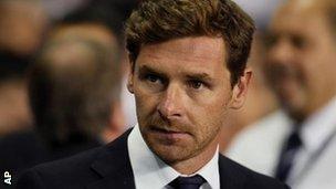 Spurs boss Andre Villas-Boas
