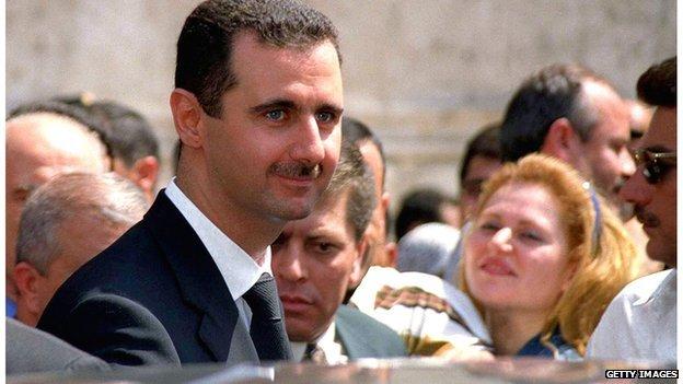 O presidente Bashar al-Assad