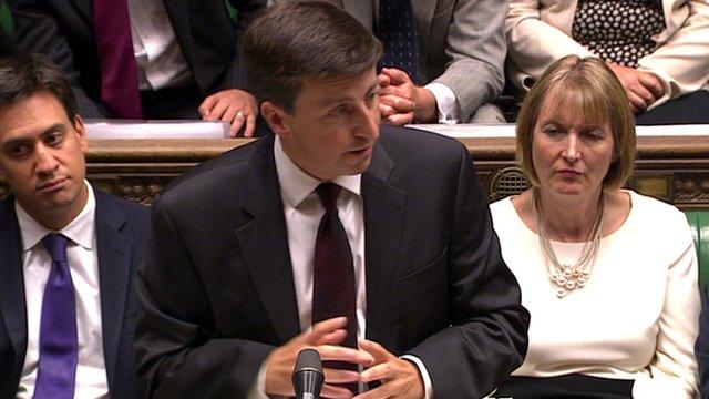 Shadow Foreign Secretary Douglas Alexander