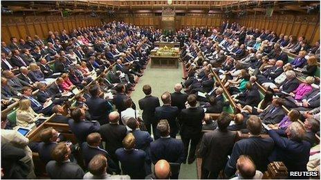 Parliament debates Syria intervention