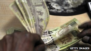 Rupee notes