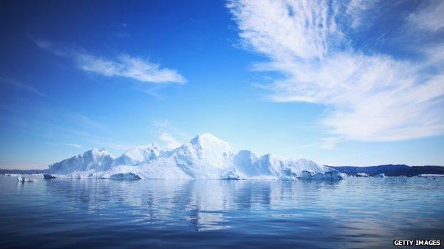 Scene in Greenland