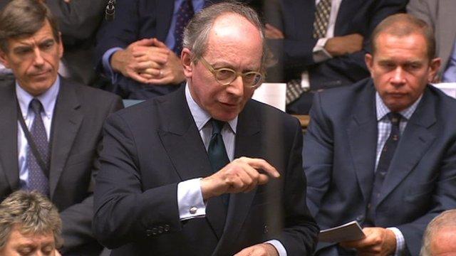 Conservative MP Sir Malcolm Rifkind