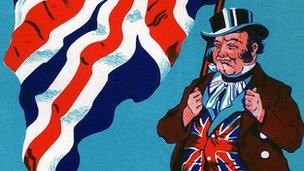 John Bull caricature