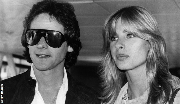 Barry Sheene and Stephanie McLean