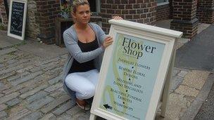 Florist, Gemma Cornick
