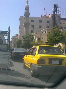 Traffic in Damascus