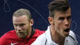 Wayne Rooney & Gareth Bale