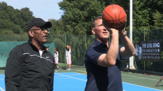 Matthew Pinsent and Jimmy Rogers