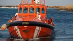 Spanish Maritime Safety Agency boat with immigrants (30 August 2013)