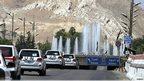 UN convoy in Damascus (30 August 2013)