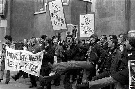 Gay pride protest 1977