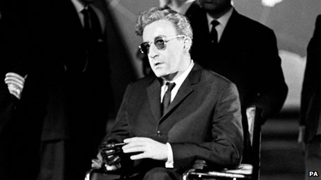 Peter Sellers in the title role of Dr Strangelove