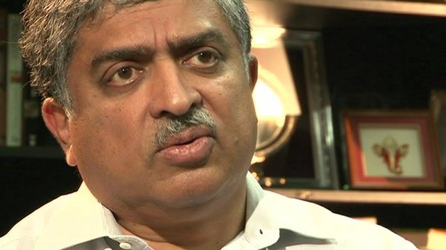 Nandan Nilekani talks about measuring success
