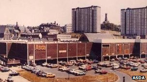 Asda supermarket in 1970s