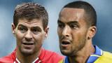 Steven Gerrard, Theo Walcott