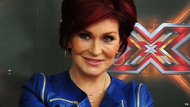 X Factor judge Sharon Osbourne