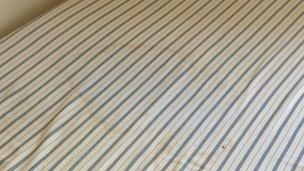 Soiled mattress