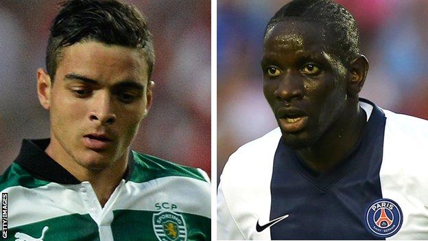 Tiago Ilori and Mamadou Sakho