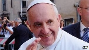 Pope Francis in Rome, 31 July